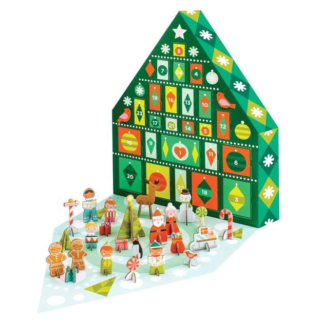 playtime petit collage advent calendar