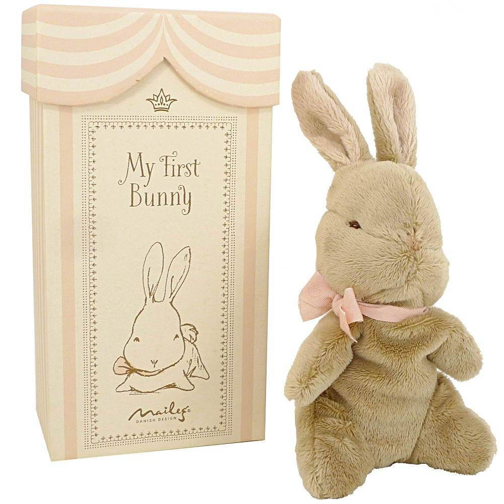 playtime my first bunny in box, rose