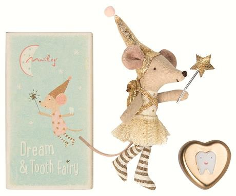 playtime maileg tooth fairy mouse, girl