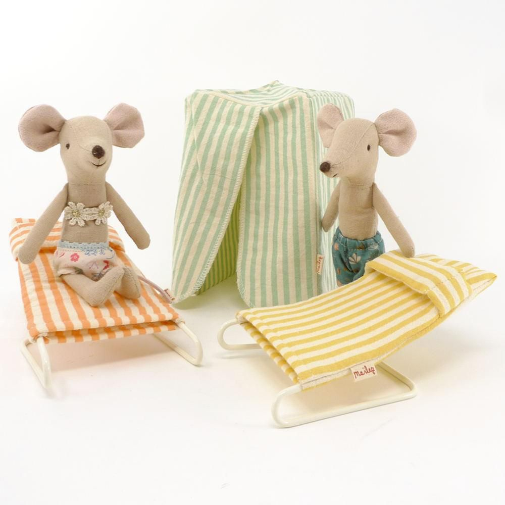 playtime Maileg mouse vacation