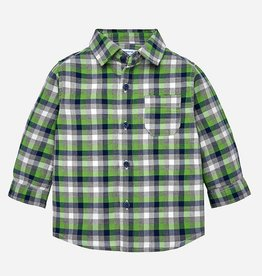 little boy mayoral l/s checked shirt