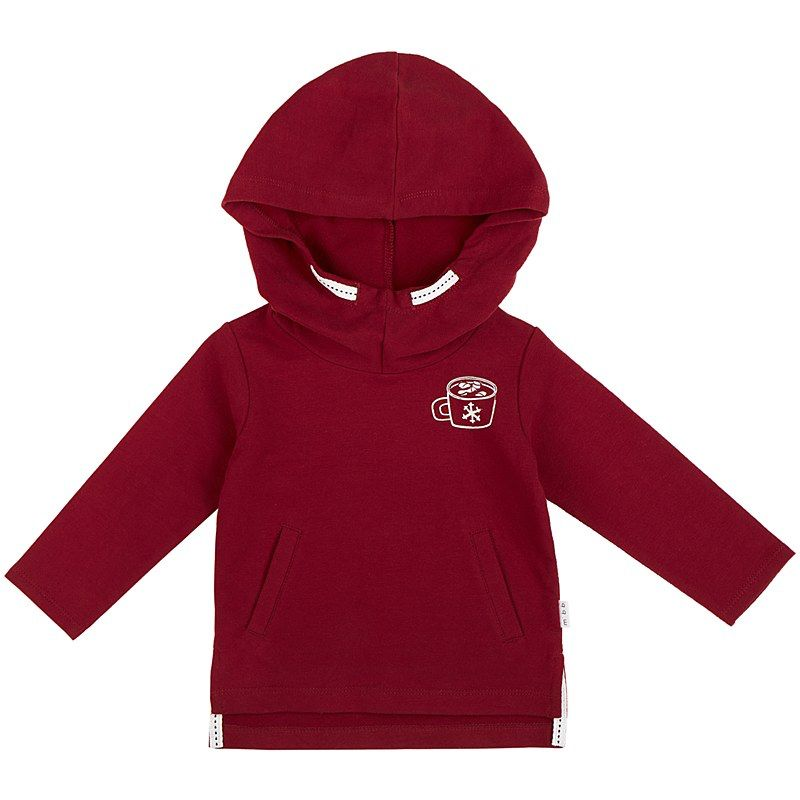 baby miles baby hot cocoa hoodie