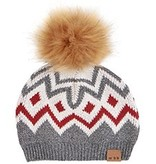 kid miles baby knit pom hat