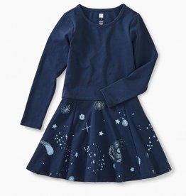 girl tea collection starry skies skirted dress
