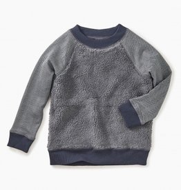 boy tea collection sherpa fleece sweatshirt