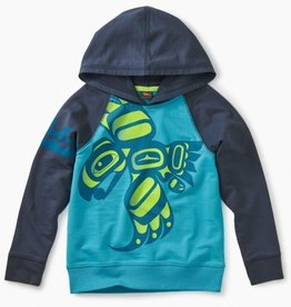 boy tea collection raven graphic hoodie