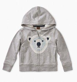 little boy tea collection polar buddy zip hoodie