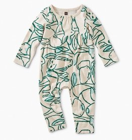 little girl tea collection pieced romper