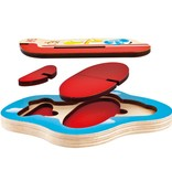 playtime hape 3D airplane puzzle