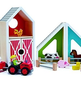 playtime hape barn playset