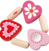 playtime haba clutching toy blooming heart