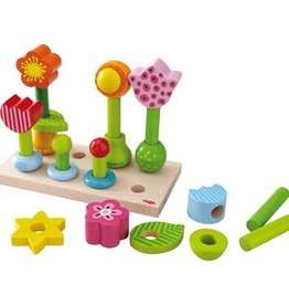 playtime flower garden peg game 18m+