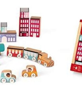 playtime kubix city 22 piece crate