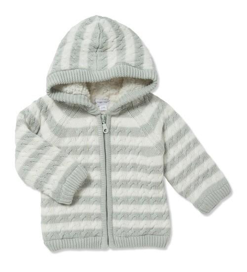 02f60a1cd sherpa zip hoodie - mod mama