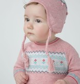baby girl angel dear fair isle dress set