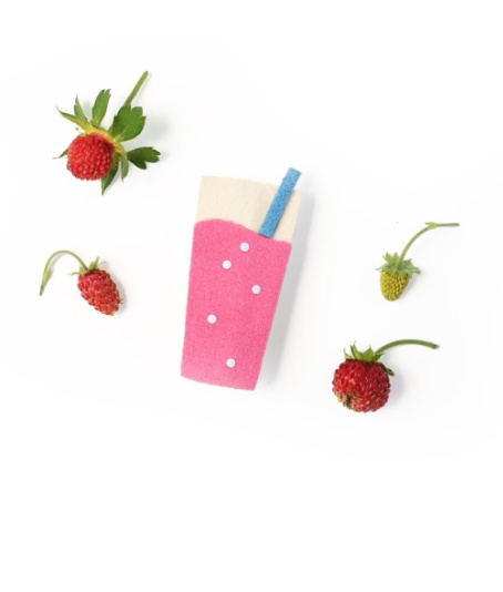 fashion accessory hello shiso strawberry soda clips