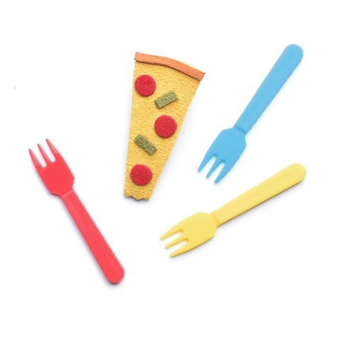 fashion accessory Hello shiso pizza clips