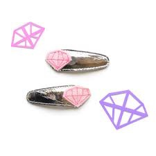 hair hello shiso diamond clips