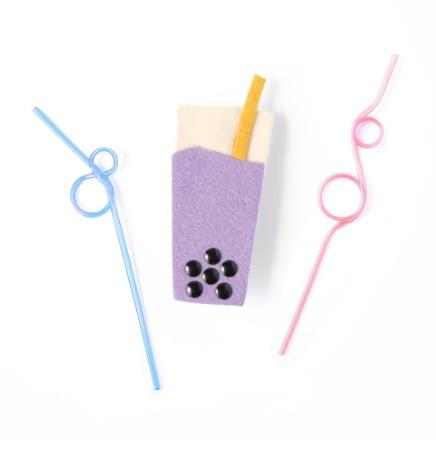 fashion accessory hello shiso boba clip