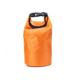 functional accessory waterproof dry bag, orange