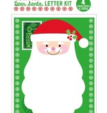playtime dear santa letter kit-set of 4 cards/envelopes