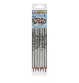playtime unicorn holographic pencils
