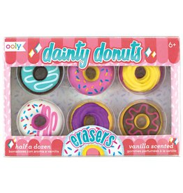 playtime dainty donuts scented erasers