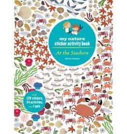 book at the seashore sticker book