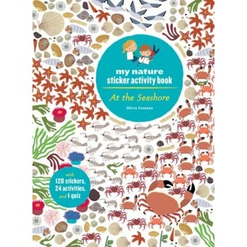 book at the seashore sticker book