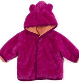 baby magnificent baby minky hooded jacket