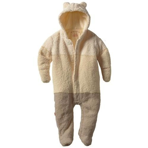 baby magnificent baby smart ombre fleece footie