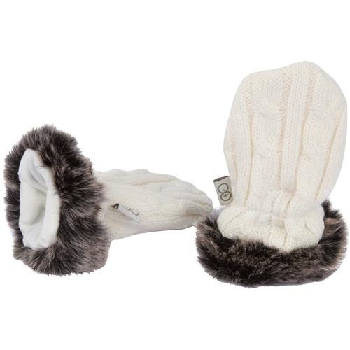 fashion accessory magnificent baby cable knit mittens