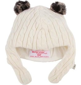 fashion accessory magnificent baby cable knit aviator cap