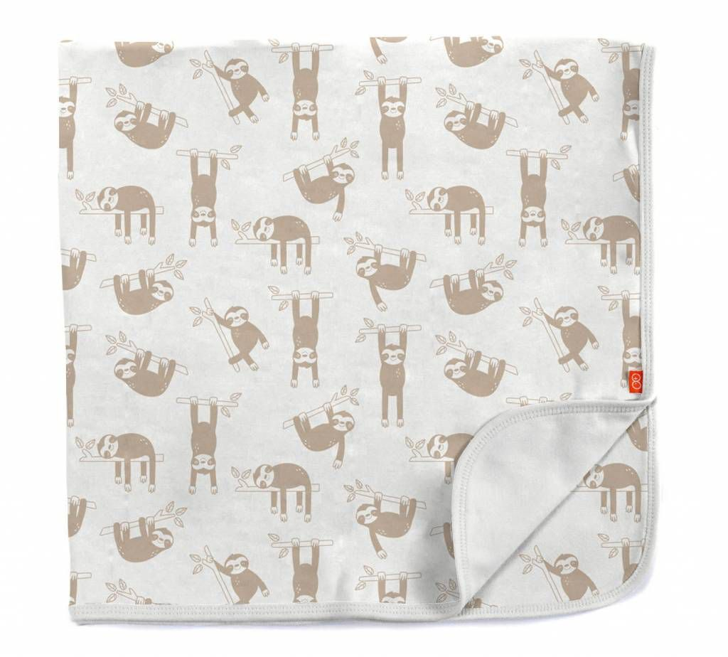 baby magnetic me organic swaddle blanket