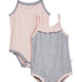 baby girl cami bodysuit (2pc)