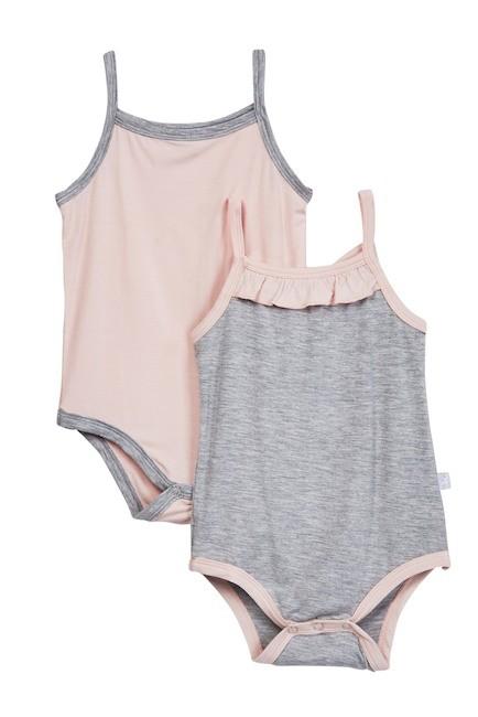 baby girl cami bodysuit (2pc)