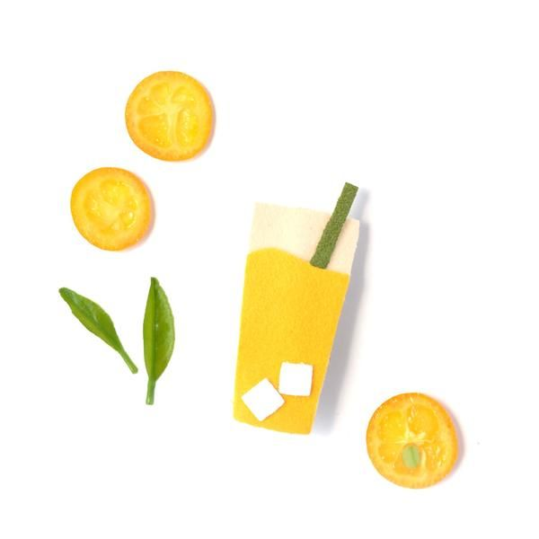 fashion accessory hello shiso lemonade clips