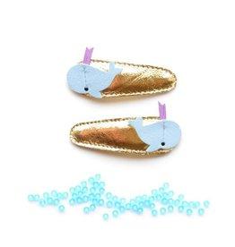 hair hello shiso whale clips