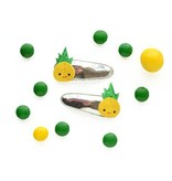 hair hello shiso happy pineapple clips