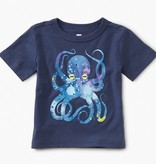 little boy tea collection pop octopus baby graphic tee