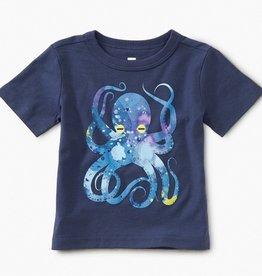 little boy tea collection pop octopus baby graphic tee