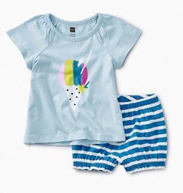 little girl tea collection hawaiian ice baby outfit