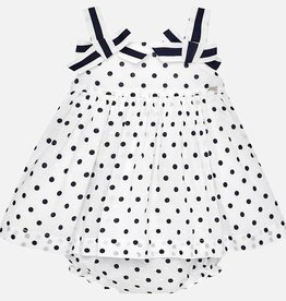 little girl mayoral dress & bloomers
