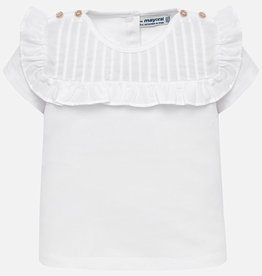 little girl mayoral ruffle tshirt