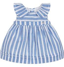 little one mayoral striped dress