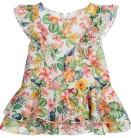 little girl mayoral ruffle dress