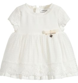 little one mayoral tulle dress & bloomers