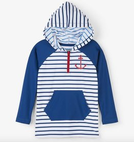 boy hatley hooded rashguard