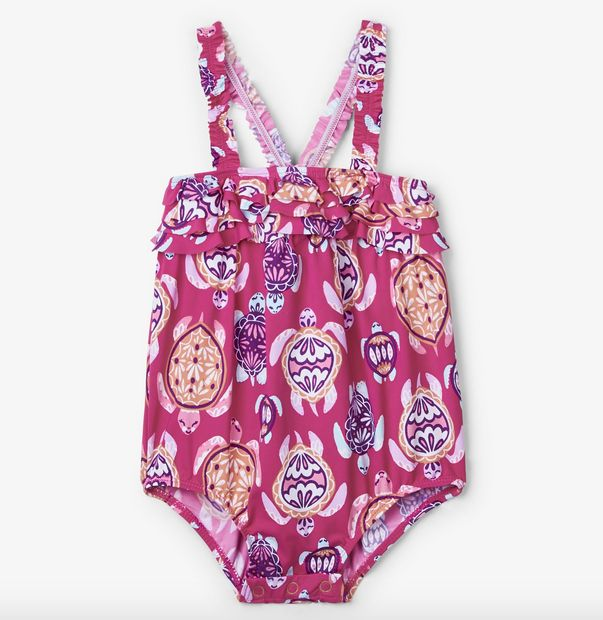 little girl hatley baby ruffle swimsuit