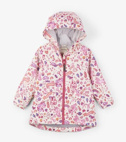 kid hatley microfiber rain coat
